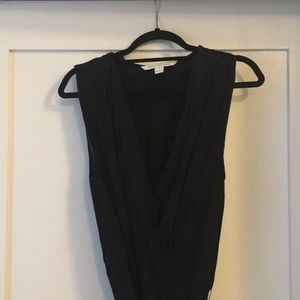 Vintage Diane Von Furstenberg Black Jumpsuit